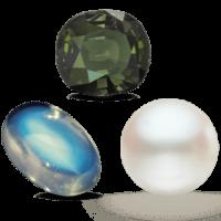 Perla, Mesačný kameň, Alexandrit